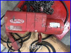 Dayton Electric Chain Hoist 2 Ton