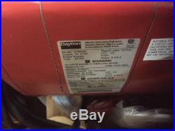 Dayton H2 Electric Chain Hoist 1000 lb Capacity 115V 20 ft. Hoist Lift, 16 fpm