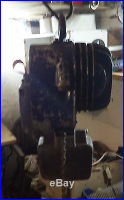 De Mag Hoist PK1N 250 kg 200 Watt Electric Chain 3 Phase