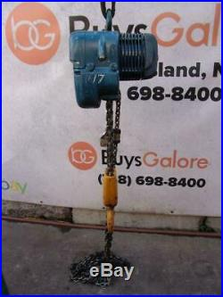 Demag 2 Ton Electric Chain Hoist 460 volts 3 phase