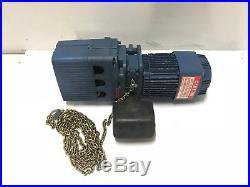 Demag Cranes DKUN 5-500 K V1 F4, 1100 lbs, Electric Crane Chain Hoist, 460V