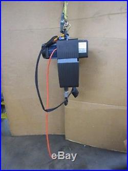 Demag DC Pro 10 2200 Lb 1ton 2 Speed Electric Chain Hoist 460v 3ph 26'. 6 Drop