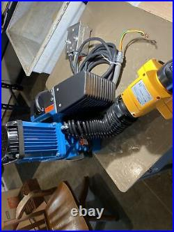 Demag DCM Pro 125 1/1 Electric Chain Hoist Very Clean With Hubbell Motor Control