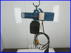 Demag DKST 2-500 1100LBS Electric Chain Hoist 480V 3 Phase 16FPM 16''6 Lift