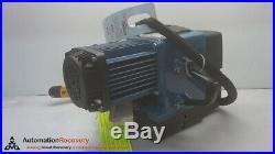 Demag Dc-com 1-125 1/1 H5 V9.6/2.4 Chain Hoist, Electric, 2 Speeds, #263612