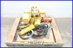 Doerr KEL2-10RT71/2S2 Chain 2ton 3ph 1hp 230/460v-ac