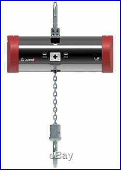 Electric Chain Hoist 1T/2200lbs 220V- 3Phase 13FPM 85ft. With chain bag Mode