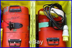 Electric Chain Hoist CM Lodestar Electric Block & Tackle Many Sizes In Stock