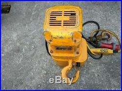 Electric Chain Hoist, Harrington, 2 Ton Capacity