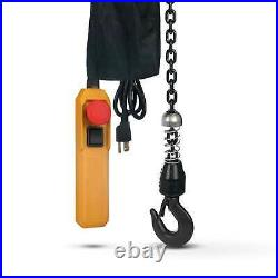 Electric Chain Hoist Overhead Crane with 20FT Remote Control(120V/60HZ- 660LBS)