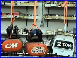Electric Chain Hoists 1/2 ton 2 ton available 1-Phase & 3-Phase