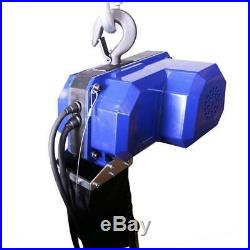 Electric chain hoist, 500 kg, 3 m with wired remote control