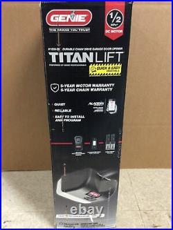 GENIE 1035-SV Titan Lift 1/2HPc Chain Drive Smart Garage Door System NEW
