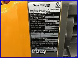 HARRINGTON Electric Chain Hoist 19A 17/3.9 fpm SEQP010SD-10 Yellow
