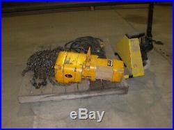 Harrington 2 Ton Electric Chain Hoist 60' Lift