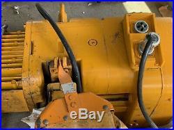 Harrington 2 Ton Electric Chain Hoist Phase 3