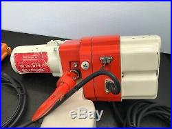 Harrington 400lb Capacity Model # Ed2b-293 10 Ft Chain Electric Chain Hoist