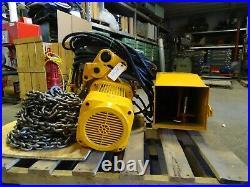 Harrington 5 Ton Electric Chain Hoist, MR050SD
