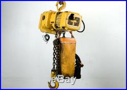 Harrington Electric 1 Ton Heavy Duty Chain Hoist, Model KT4551