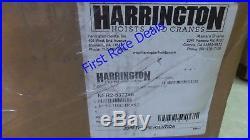 Harrington NER010L-15 Electric Chain Hoist, 2000 lb, 15 ft 208/230/460V Lift H4