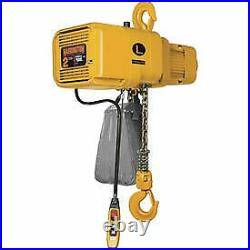 Harrington NER020CD-15 NER Dual Speed Electric Chain Hoist 15' Lift, 2 Ton