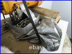 Harrington NER030L 3 Ton 6000# 20' Lift 16FPM 3.5kW 3Ph Electric Chain Hoist