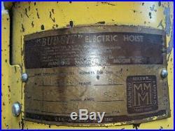 Hoist Budgit 1/2 (Half) Ton Electric Roller Chain Hoist