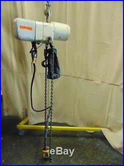 Industrial Coffing 1,000 lb 1/2 Ton Electric Chain Hoist