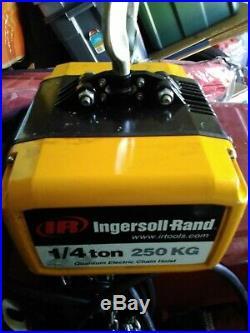 Ingersoll Rand 1/4 Ton Electric Chain Hoist