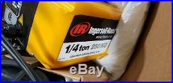Ingersoll-rand Quantum Qch50-1nd25h Electric Chain Hoist 1/4.25 Ton 32ft 460v