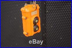 JET 1SS-3-20 Electric Chain Hoist 1 Ton Capacity, 20Ft. Lift, 3 Phase 230/460V