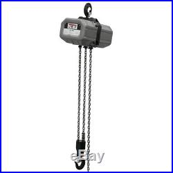 JET 2 Ton Capacity 15' 3-Phase Electric Chain Hoist 231500 New