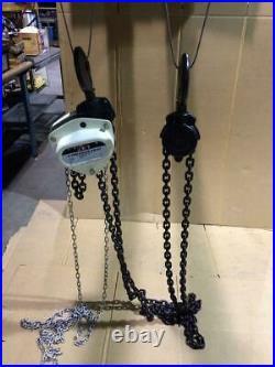 JET 5 TON Chain Fall Hoist 10ft Lift L100-500WO-10 107100 BLOW-OUT SALE