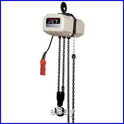 JET 5 Ton Capacity 15' 3-Phase Electric Chain Hoist 531500 New