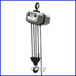 JET 5SS-1C-15 15' Lift Electric Chain Hoist 5 Ton 115/230V 1PH 511500