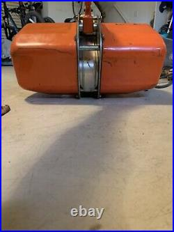 Jet 1/2 ton electric chain hoist