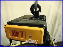 Konecranes Electric Chain Hoist Fall Lift 250 lb 110 Volt