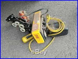 Konecranes XN 5 1-ton Electric Chain Hoist with Trolley
