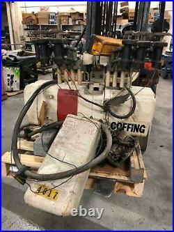 MHE Electric Chain Hoist, Model UNIT2A, 3 ton with Accessories. Loc erc10399 /RS