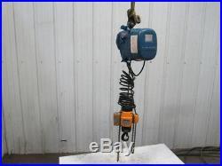Mannesmann Demag PMV5 V1 F6 Electric Chain Hoist 2 Speed 460V 100Lbs. 9'6 Lift