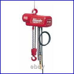 Milwaukee 9570 Electric Chain Hoist 2-Ton Capacity (Refurbished)