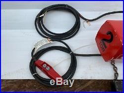 Milwaukee 9572 Professional Electric Chain Hoist 2-Ton Capacity, 15ft. Lift