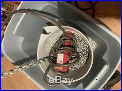 Milwaukee 9573 Professional Electric Chain Hoist 2 Ton 20 ft. Magnetic Brake