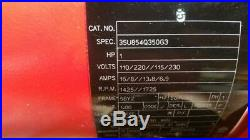 Milwaukee Electric Chain Hoist 2 Ton 20 feet Hook Mount Magnetic Brake 9573 K531