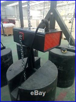 Mode 611 Electric chain hoist Capacity1T/2200LBS 220V- Lift25m/82ft. 13FPM
