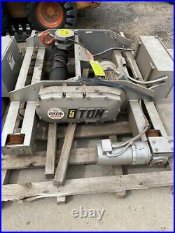 New Detroit Hoist And Chain 5 Ton Top Runner Model # DH10T30-21M100