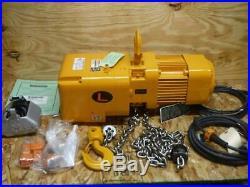 New NER010L-10 Harrington 1 ton 10 ft. Lift 14 fpm 208/230/460V 3 ph Chain Hoist