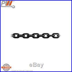 ProWinch 1 Ton Electric Chain Hoist 20ft G100 Chain M4/H3 220/440V