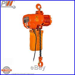 ProWinch 2 Ton Electric Chain Hoist 20ft G100 Chain M4/H3 230/380/460V