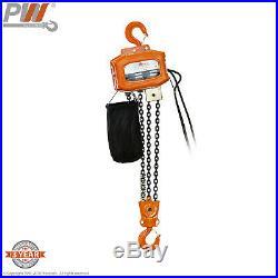 ProWinch 3 Ton Electric Chain Hoist 20 ft. FEC G80 Japan Chain M3/H2 110/220V